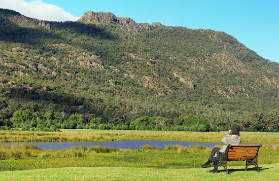 Halls Gap Motel: Relax and take your time.