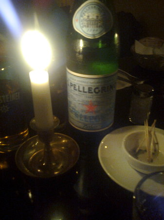 Ristorante Pizzeria Focolare: Candlelit dining was lovely.