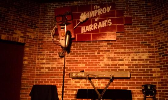 Improv Comedy Club : The stage.