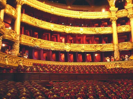 Garnier Opera House Paris Tours