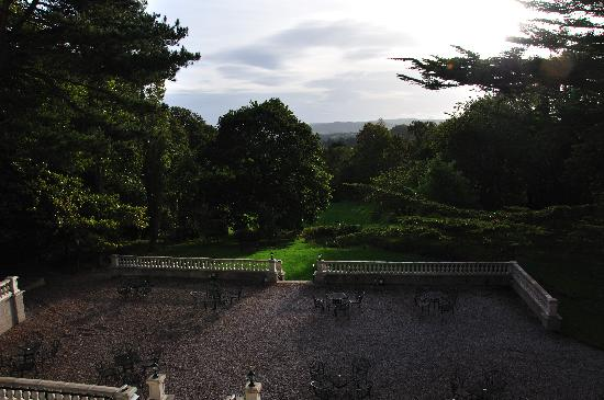 Sychnant Pass Country House: View from Master Bedroom (Suite)