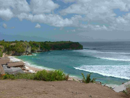 Balangan Sea View Bungalow: situation de l'hôtel
