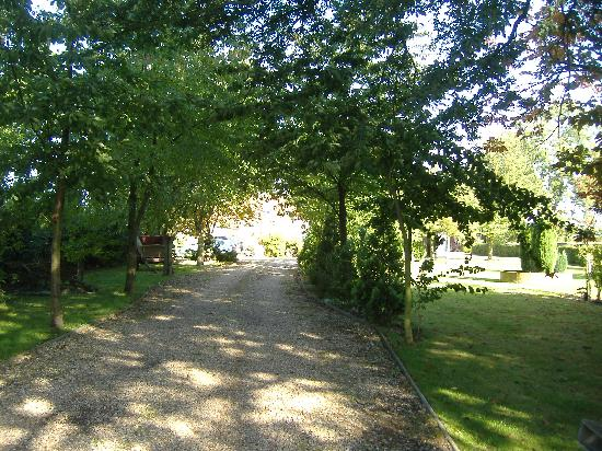 Beech Farm Cottages: Private drive leading to to cottages