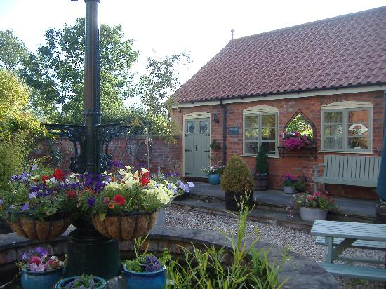 Beech Farm Cottages: 'Milkmaid Cottage' from the lovely courtyard