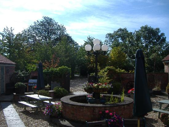 Beech Farm Cottages: View from the 'Fishing well'