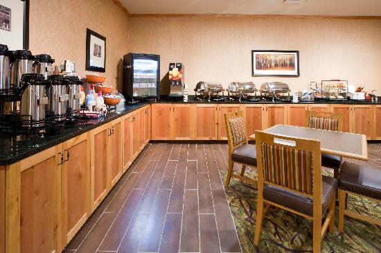 Minot, Kuzey Dakota: Breakfast Bar