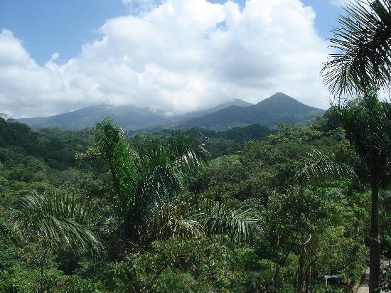 Vallarta Botanical Gardens: view from lunch