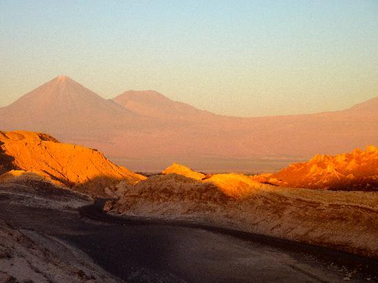 Desierto De Atacama: Abendstimmung