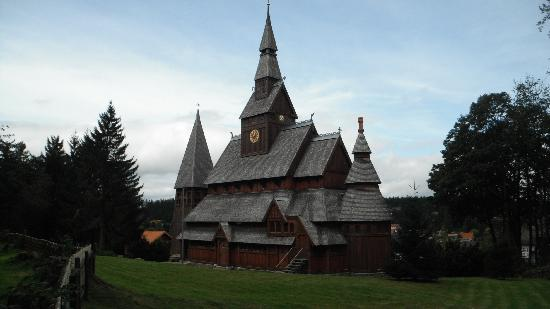 Hotel Njord: Stave Church