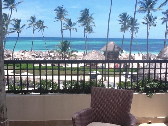 "Now Larimar Punta Cana: Balcony/View from ""ocean front "" suite"