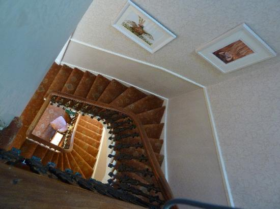 Kingsway Guest House: View down the stairs