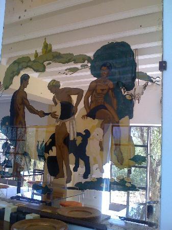 دوماين ماليكا - جيست هاوس: cool artwork everywhere