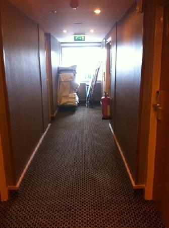 BEST WESTERN Park Hotel: corridor