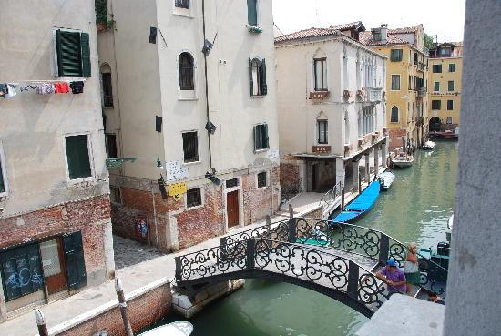 Hotel Palazzo Abadessa: The Canal Outside the Hotel