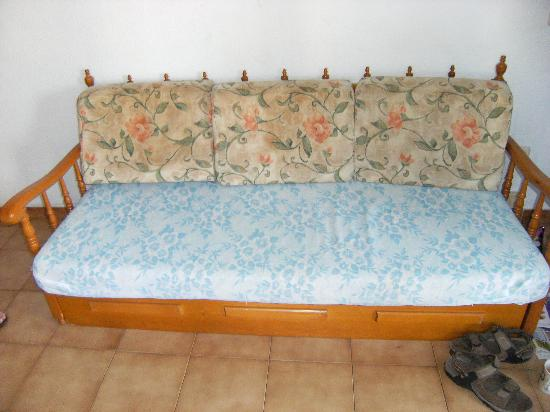 Loixmar Apartments : Sofabed.