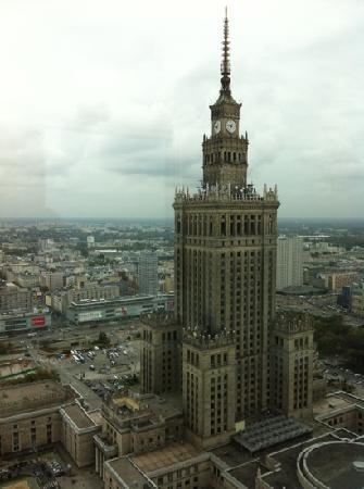 โรงแรมอินเตอร์คอนติเนนตัลวอร์ซอว์: the view from 3711