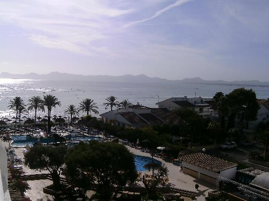 Hotel Condesa de la Bahia: view from our room