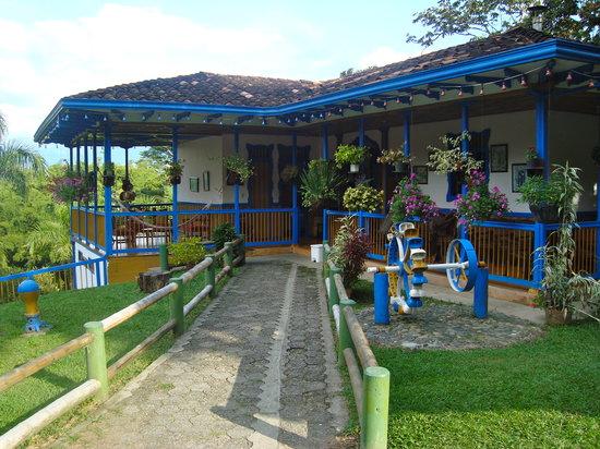 Montenegro, Colombia: casa del parque nacional del cafe