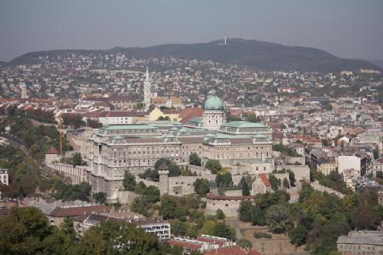 Gold Hotel Wine & Dine: The Castle - taken from the Buda Hills