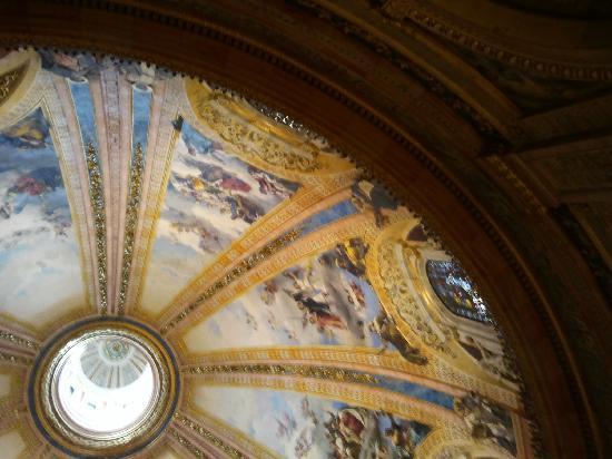 Real Basilica de San Francisco el Grande: interior cupula