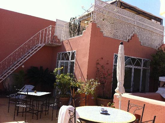 j 39 veux du soleil bilde av riad alboraq i marrakech. Black Bedroom Furniture Sets. Home Design Ideas