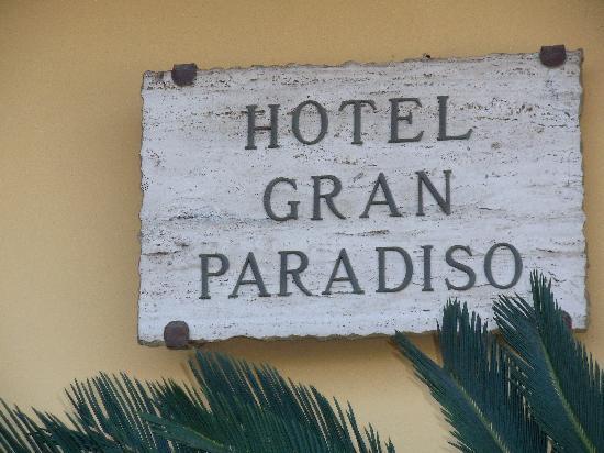 Art Hotel Gran Paradiso: hotel name
