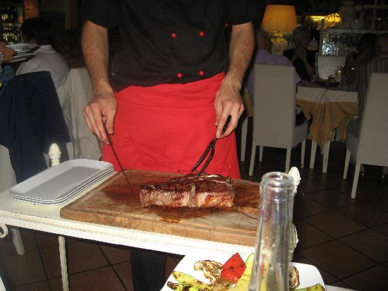 Enoteca Ristorante Gallo Nero: a meal suitable for sharing