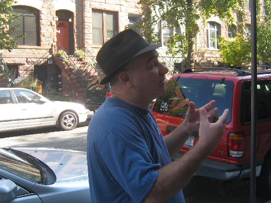 A Tour Grows in Brooklyn : Rick our guide