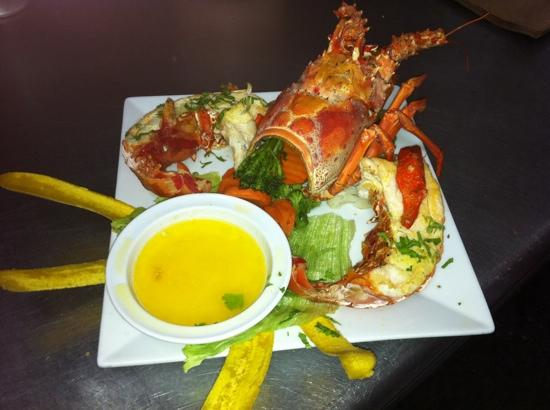 Gonzalez Sea Food Restaurant: chef choice lobster!