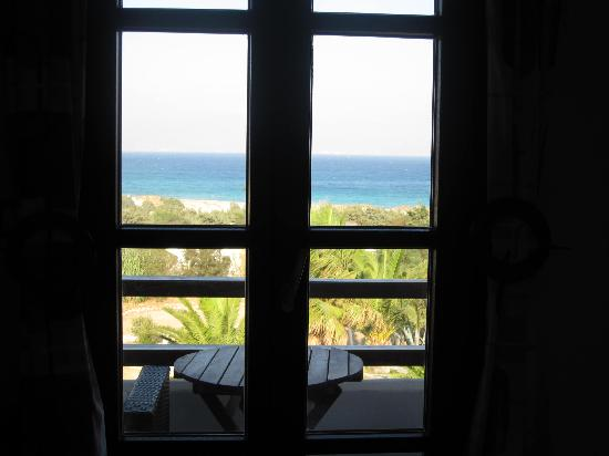 Faros Villa: view from our room