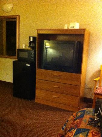 Travelodge Inn and Suites Albany: télé frigo et micro-ondes
