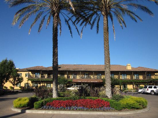 The Lodge At Sonoma Renaissance Resort Spa Entrance Of Hotel