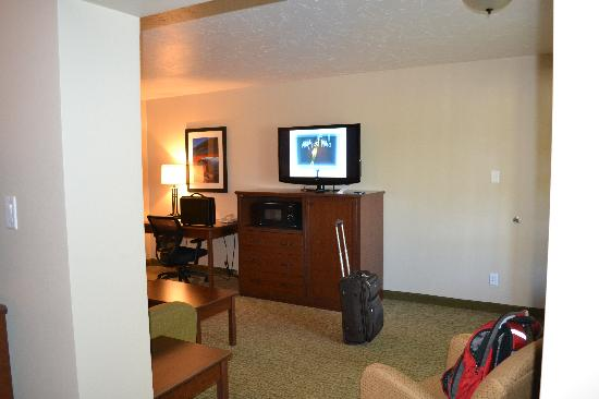 BEST WESTERN Town & Country Inn: The main room's television