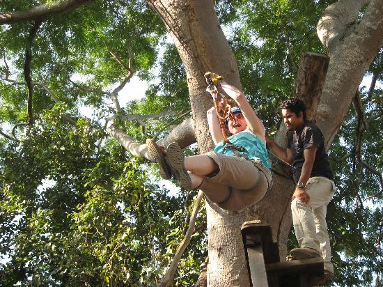 Adventure Park (Parque Aventura): One of the big zip lines (probably the 250 meter one)