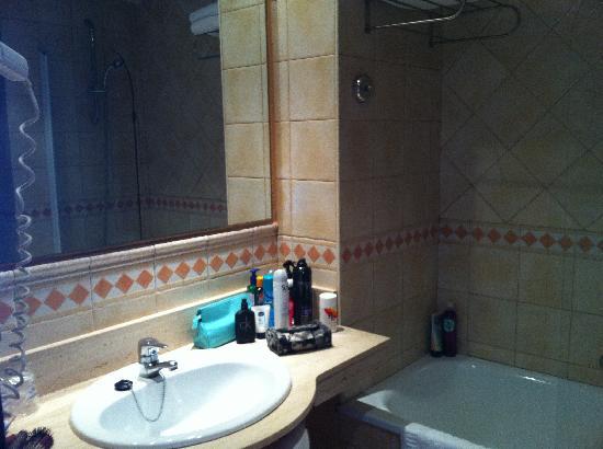 เฮช10ซาโลพริ้นซ์เซสโฮเต็ล: Bathroom
