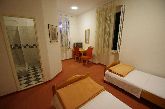 Hotel Slavija: 宿泊した部屋