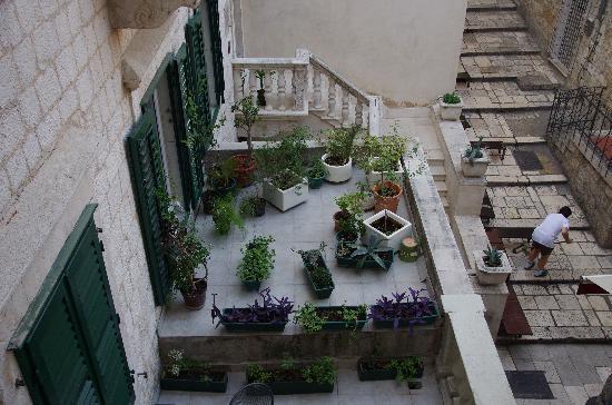 Hotel Slavija: 部屋からの眺め