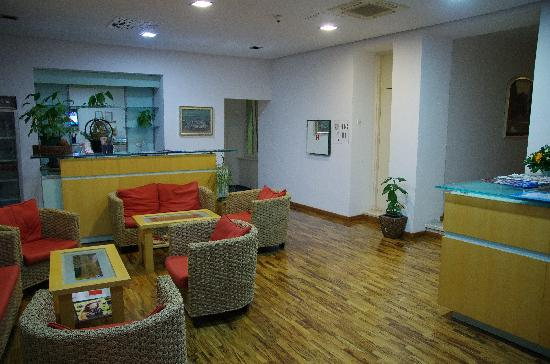 Hotel Slavija: ロビー