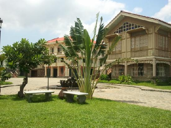 Bagac, Philippines: the courtyard