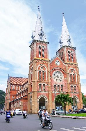 Ho Chi Minh City, Vietnam: notre dame cathedral