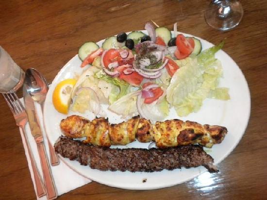 Kandoo: Grilled Chicken, Minced Lamb