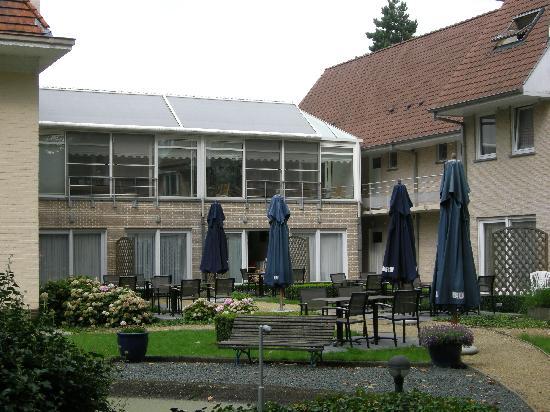 Hotel Auberge du Vieux Cedre: the garden