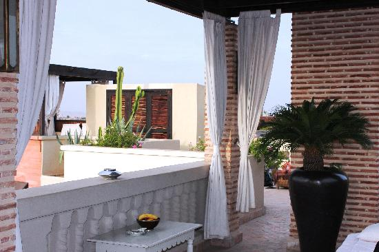 Riad Kheirredine: Dachterrasse