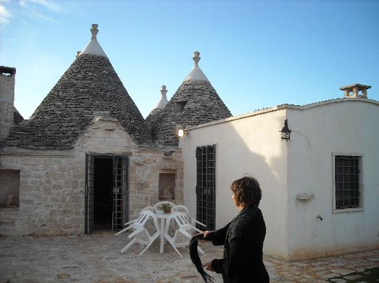 Bed and breakfast Trulli sotto LA CUPA : Trullo