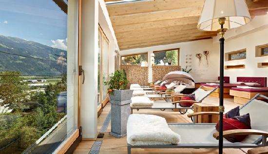 Familienhotel Seetal: Panorama Ruheraum