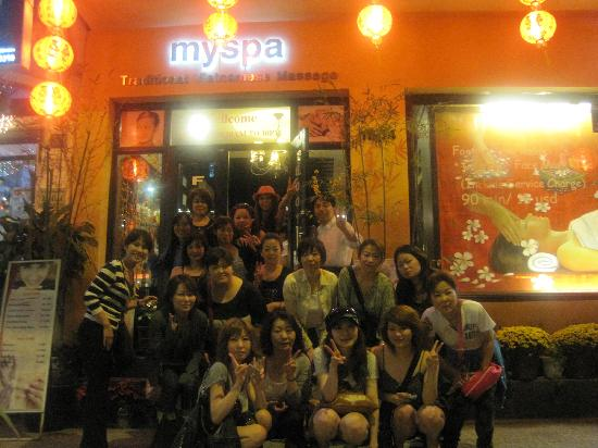 My Spa : staff