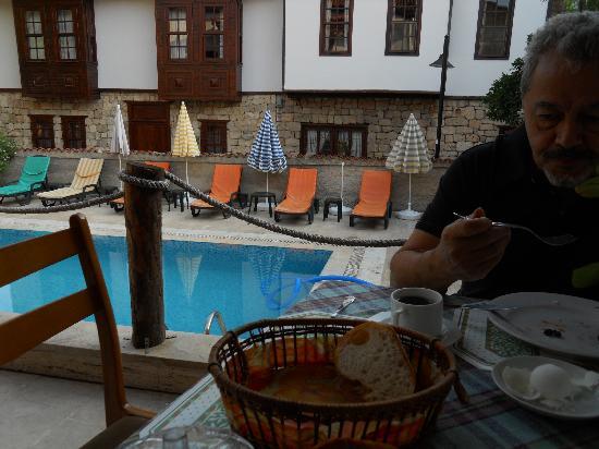 Urcu Hotel: Havuz Görünümü
