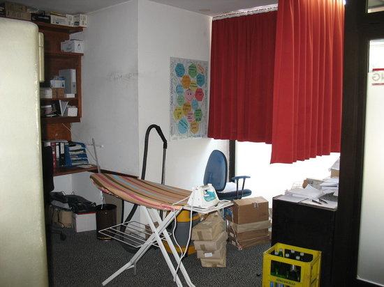 โรงแรม เวียนนาร์ท อัม มูเซียมควาเทียร์: Ironing room at the ViennArt Hotel