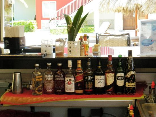 TRS Turquesa Hotel: Top End Branded Spirits at all bars