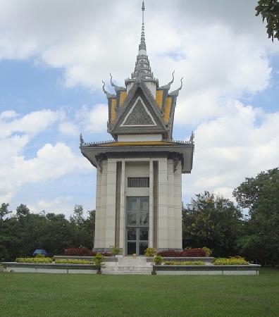 ทุ่งสังหารเชิงเอก: The memorial itself